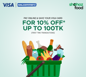 Visa Card cashback on shohoz